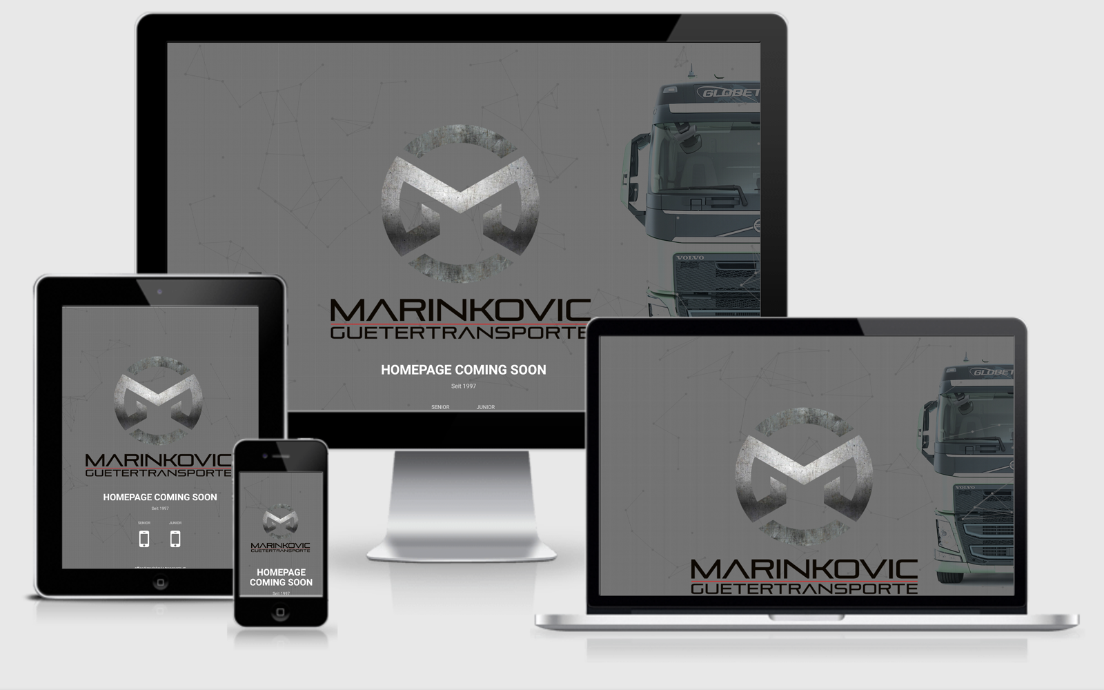 Marinkovic Transporte KG Homepage