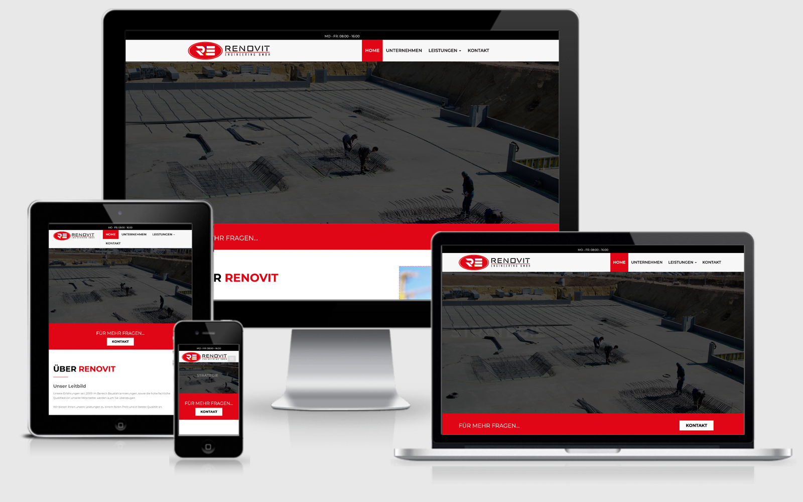 Renovit Engineering GmbH Wien Homepage