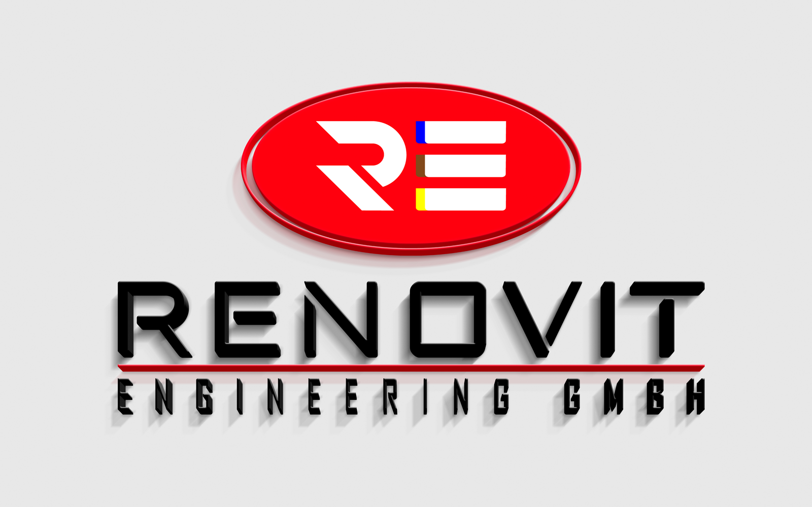 Renovit Engineering GmbH Logo Design