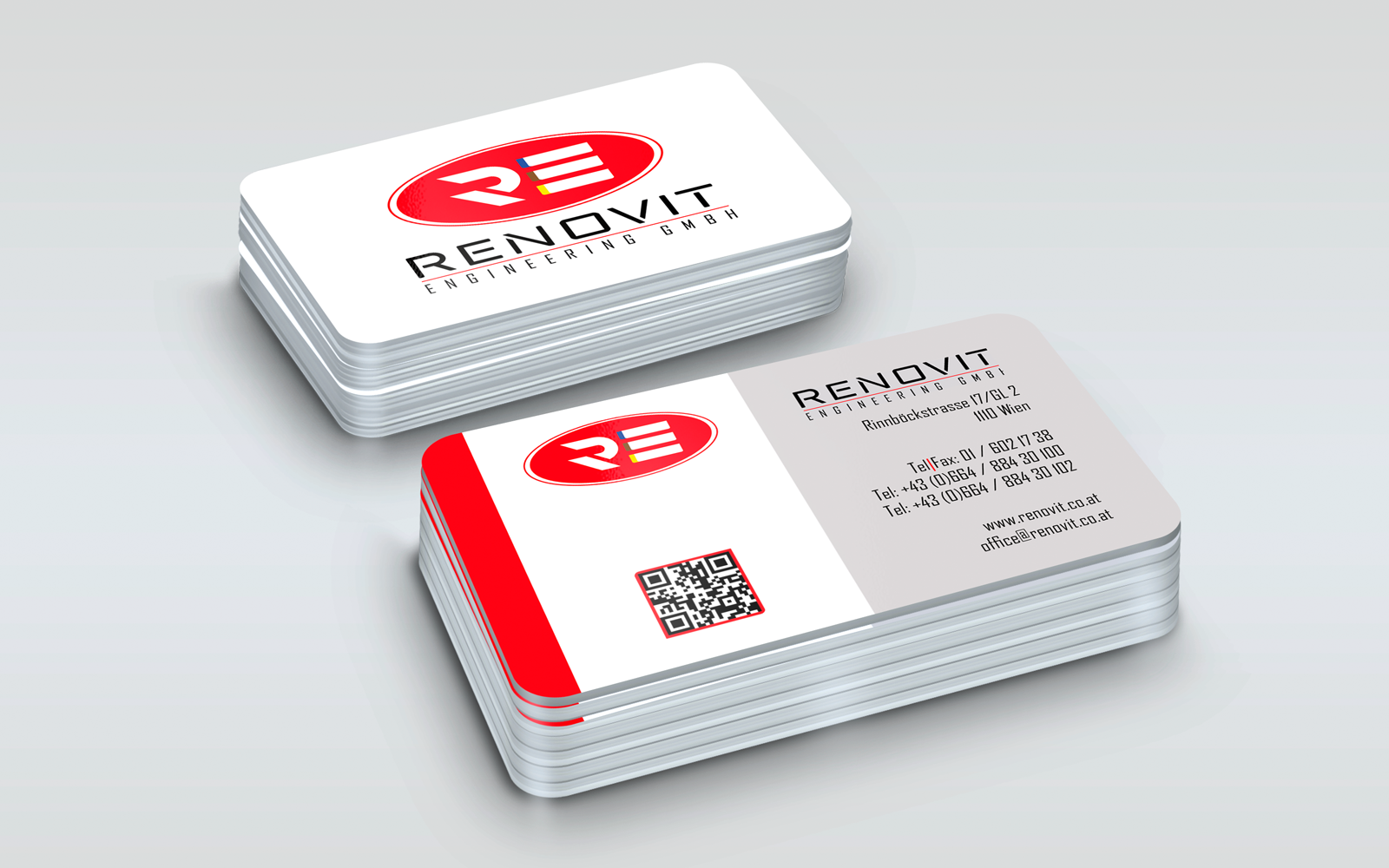 Renovit Engineering GmbH Business Card